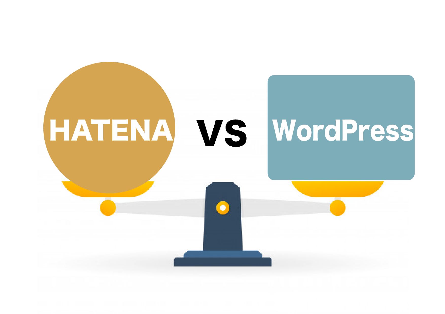 hatena vs wordpress icon